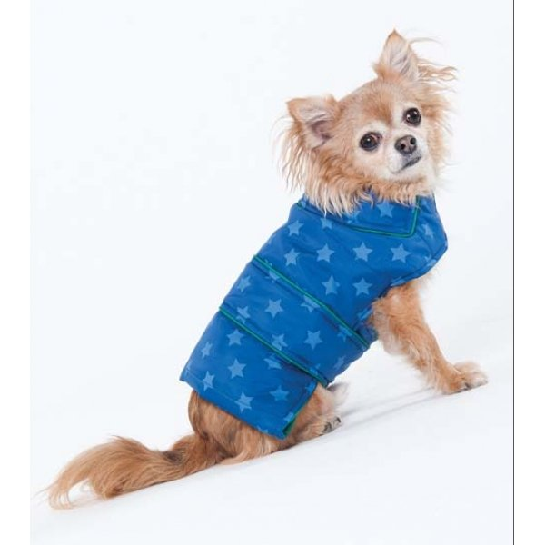 Blue Star Puffy Blanket Coat / Size (Large / Blue) Best Price