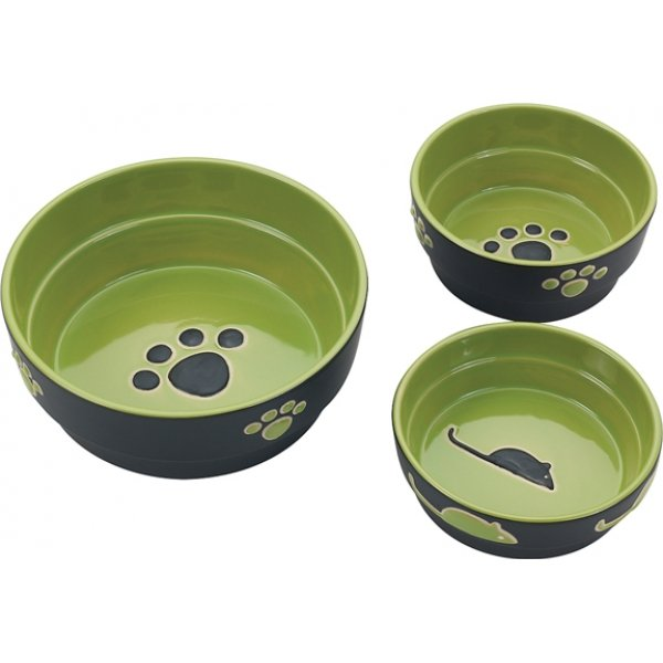 Fresco Dog Dish / Size (5 In. / Green)  Picture