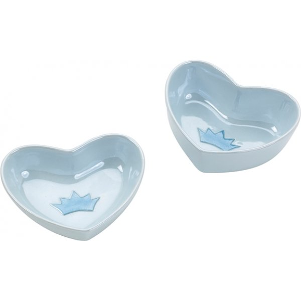 Sweetheart Cat Dish / Size 5 In. / Blue