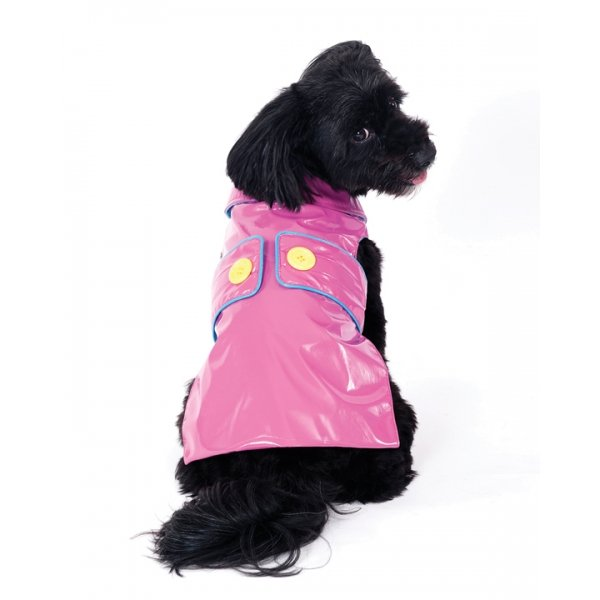 Savvy Slicker Dog Raincoat / Size (XSmall / Pink) Best Price