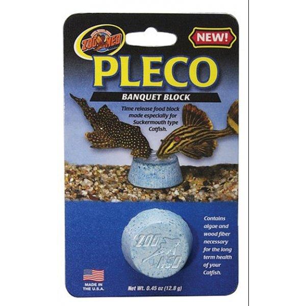 Pleco banquet block 45 oz aquarium supplies gregrobert for Automatic fish feeder walmart