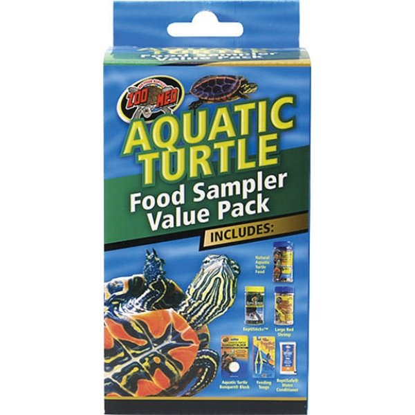 Aquatic Turtle Food Sampler Value Pack Best Price