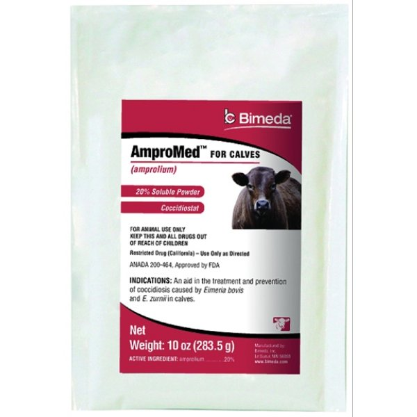 Ampromed For Calves (amprolium) - 10 oz. ct. Best Price