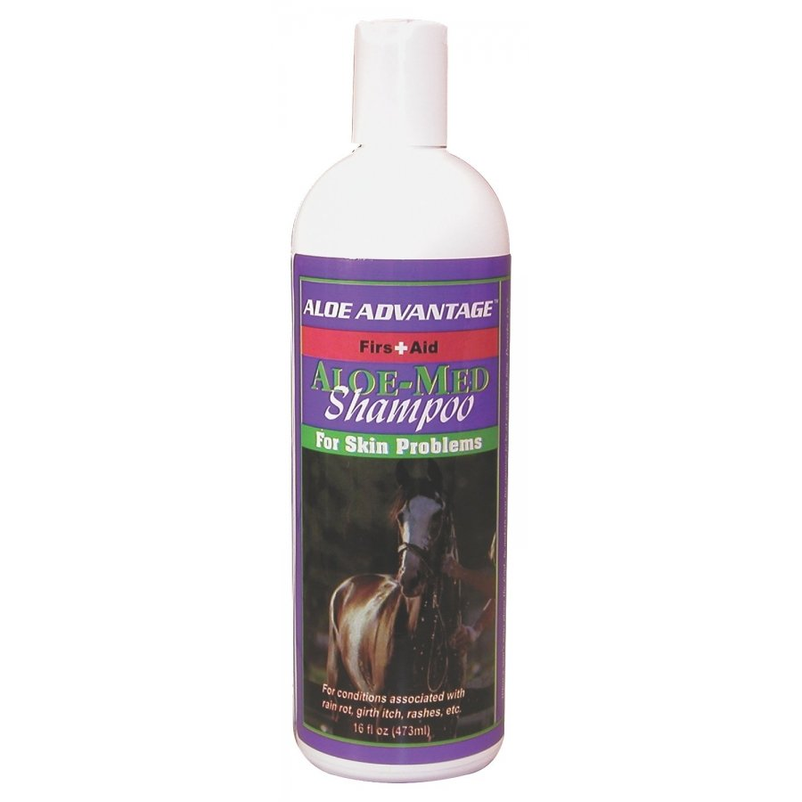Aloe-Med Shampoo for Horses  Goats  Livestock and Dogs - 16 oz. Best Price