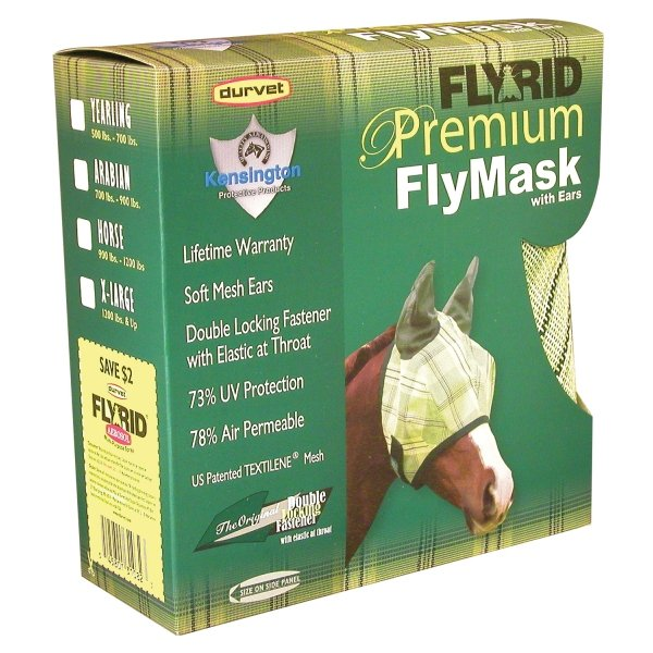 Fly Rid Premium Masks for Horses / Type (XLarge w/ ears) Best Price