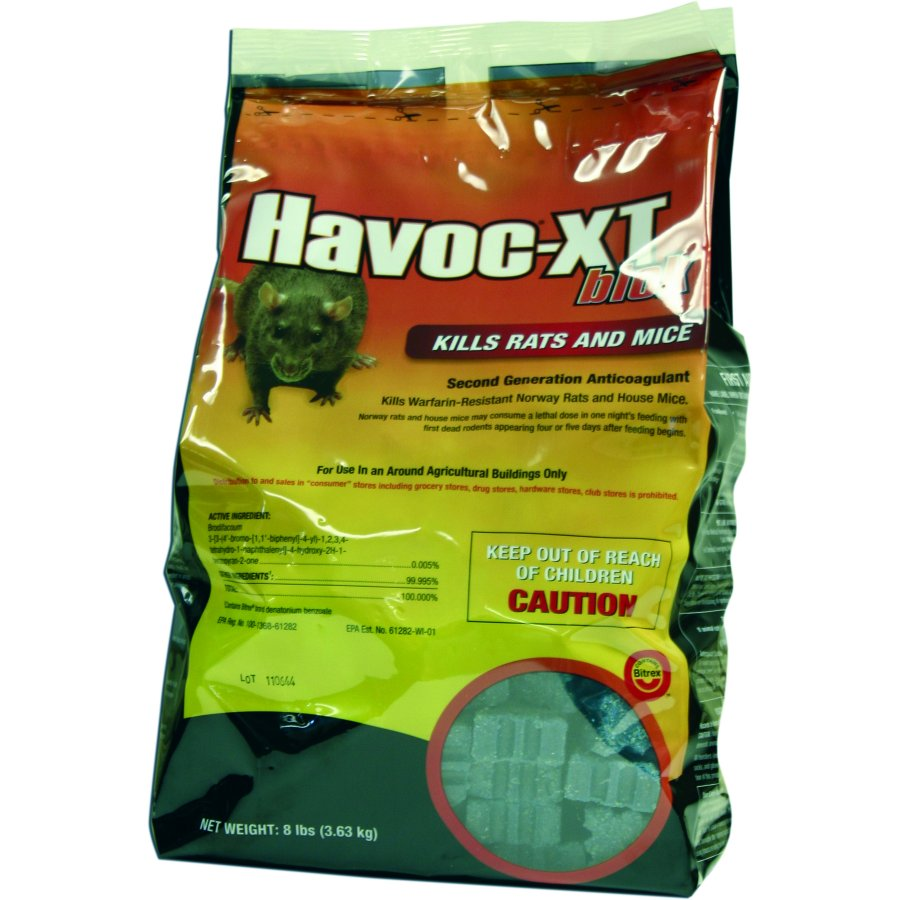 Havoc Xt Blok Pouch 8 Lbs Pest Control Products Gregrobert