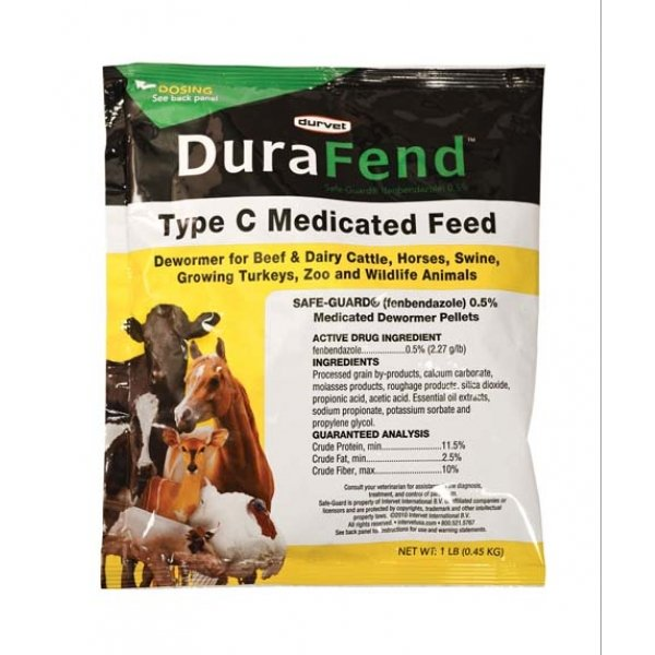 Durafend Dewormer for Livestock - 1 lbs. Best Price