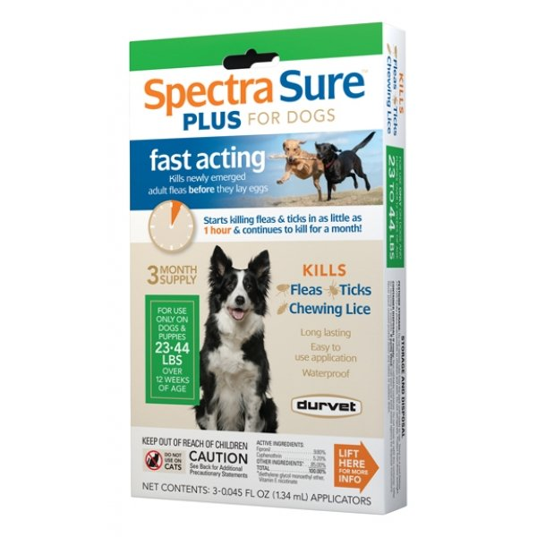 Spectra Sure Plus For Dogs / Size 23 44 Lbs.
