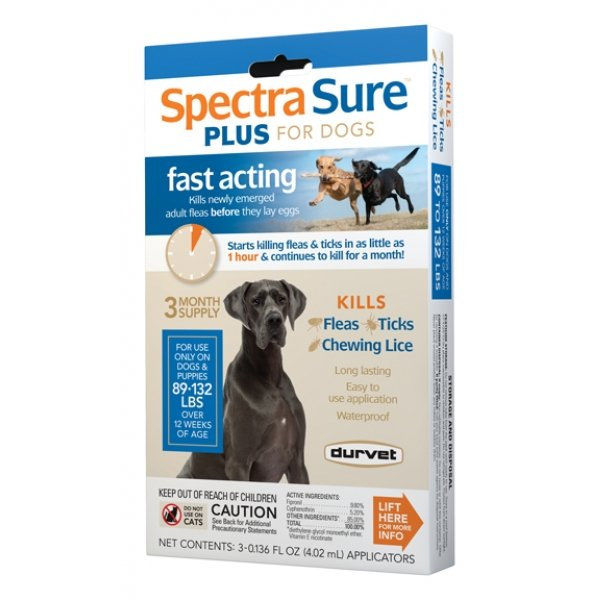 Spectra Sure Plus For Dogs / Size 89 132 Lbs.