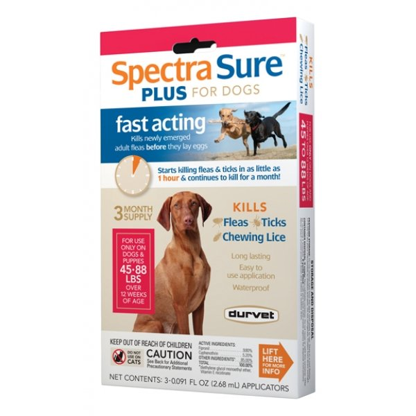 Spectra Sure Plus For Dogs / Size 45 88 Lbs.