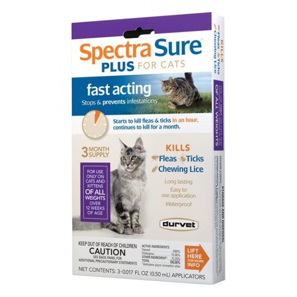 Spectra Sure Plus For Cats 3 Month
