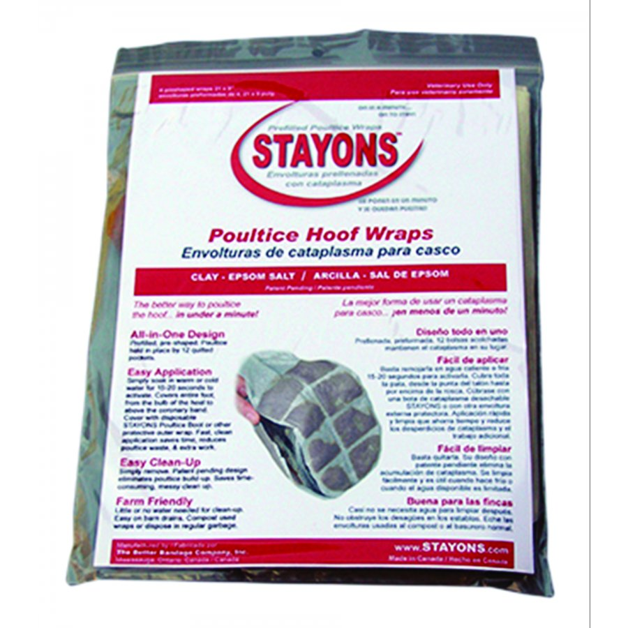Stayons Poultice Hoof Wraps Best Price