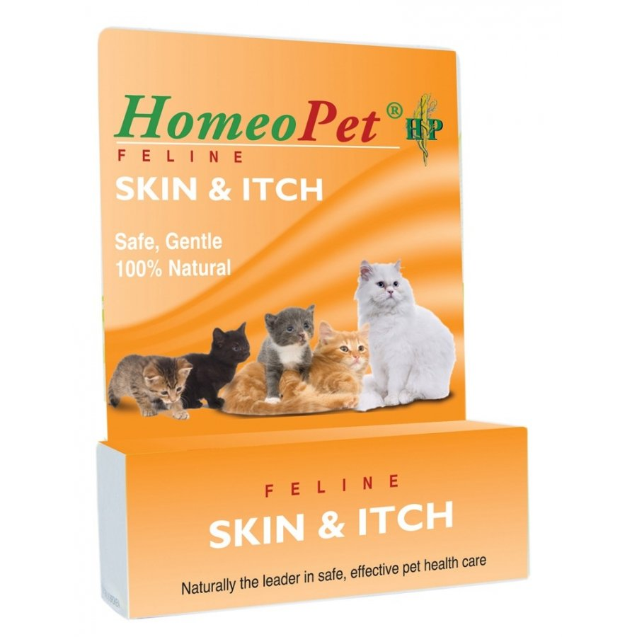 Homeopet Skin And Itch Feline Remedy 15 Ml.