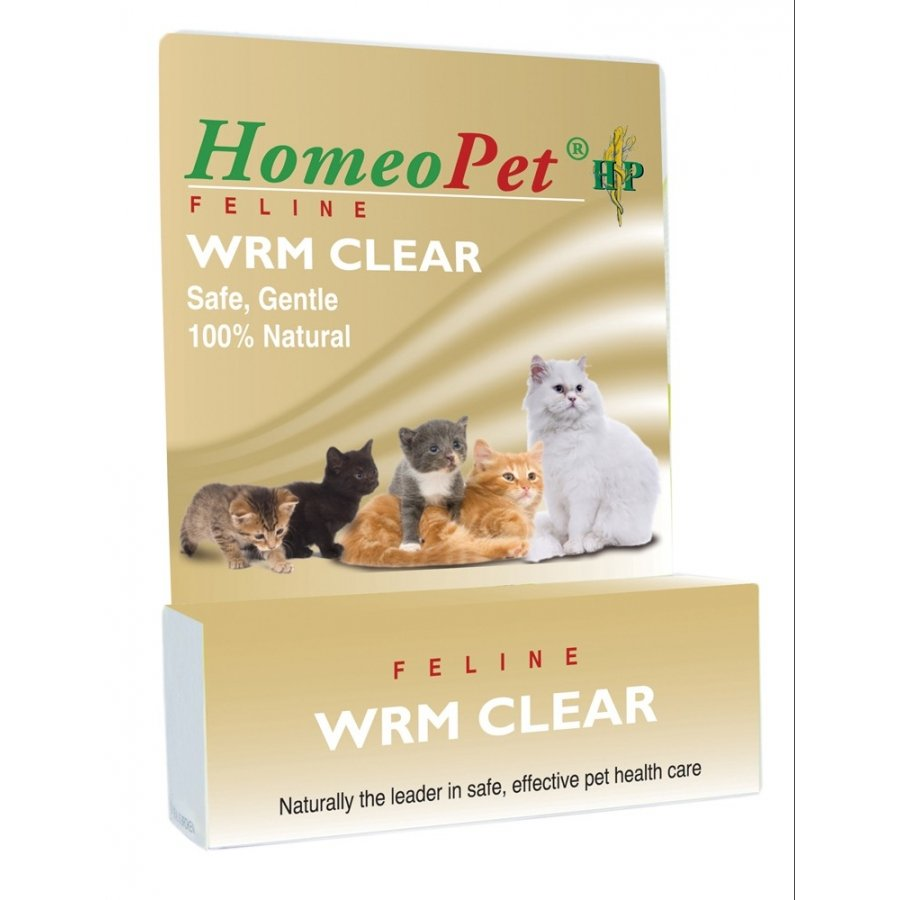 Homeopet Wrm Clear Feline Remedy 15 Ml.