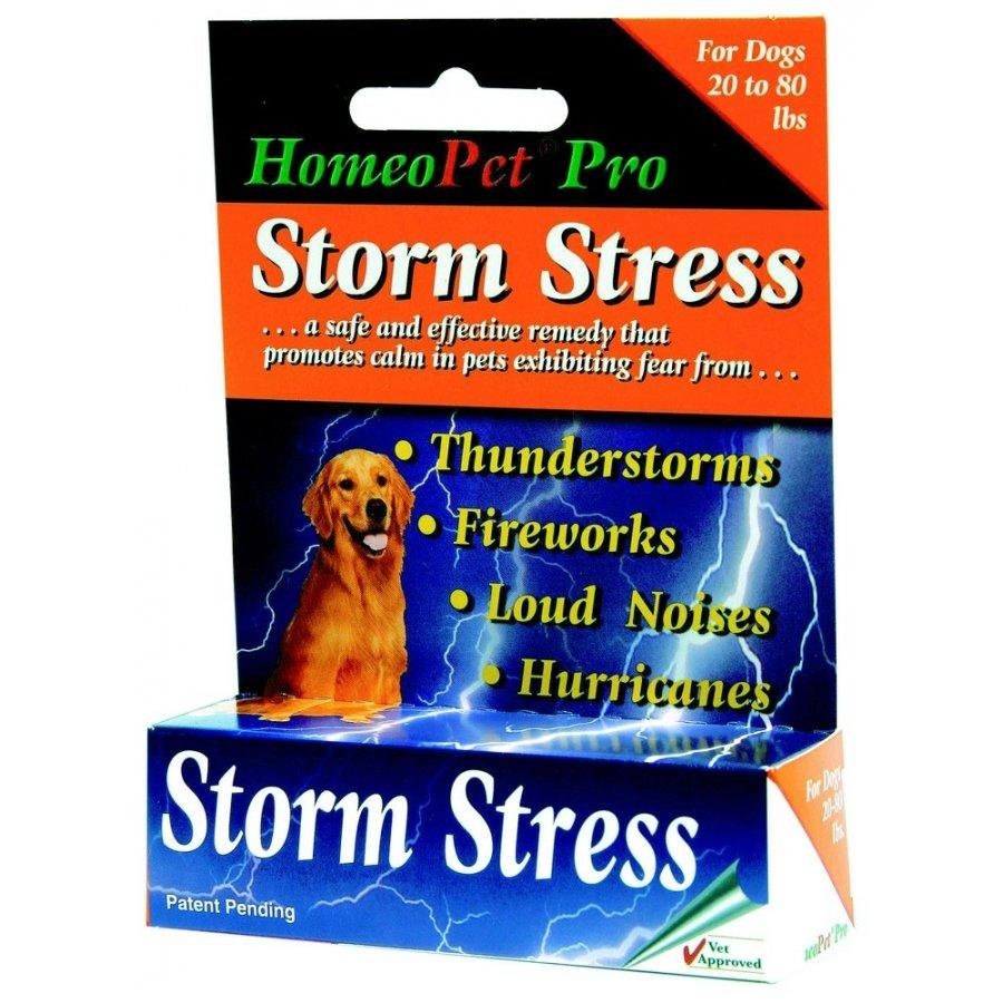 Homeopet Storm Stress K 9 Dog Remedy / Weight 20 80 Lbs.
