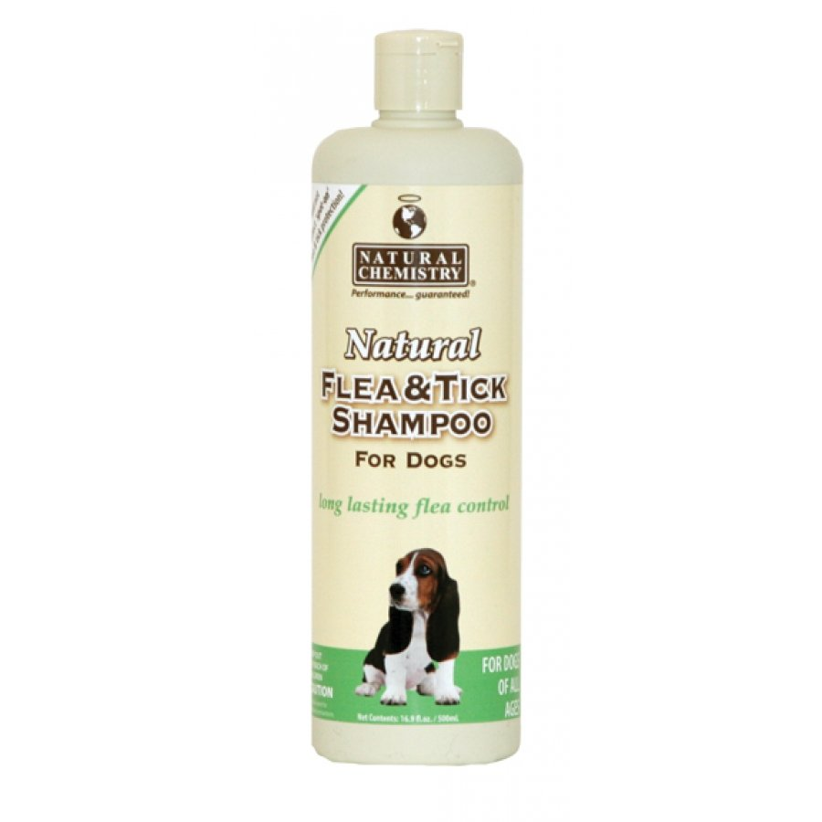 Natural Flea Tick Shampoo For Dogs 16 Oz