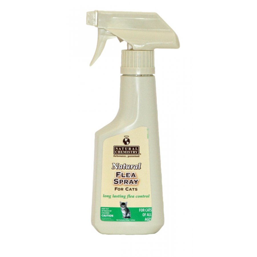 Natural Flea Spray For Cats 8 Oz