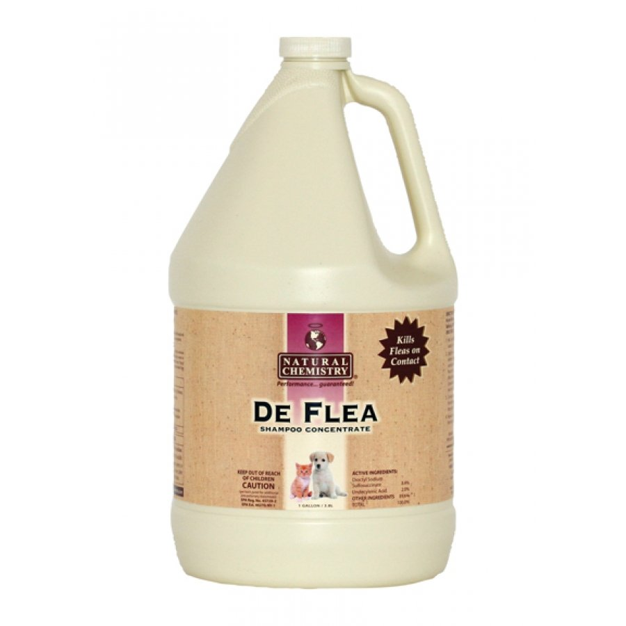 Deflea Shampoo Concentrate / Size Gallon
