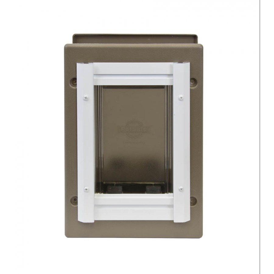 Medium Wall Entry Aluminum Pet Door Petsafe