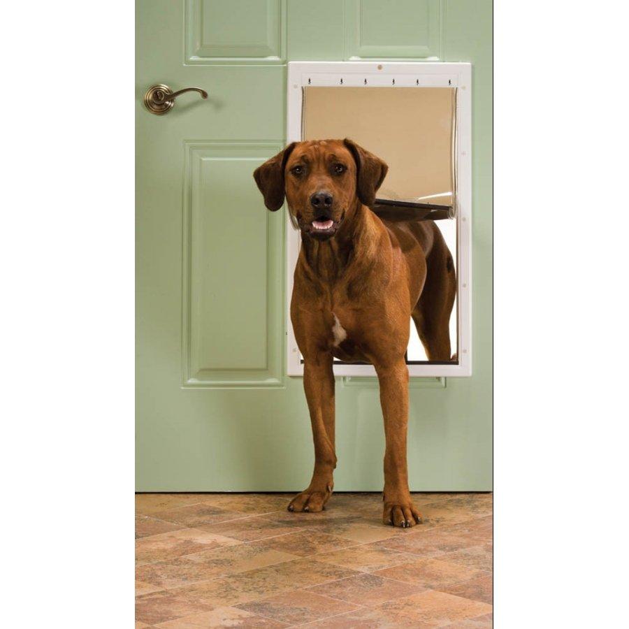 Petsafe Plastic Pet Door Premium White X Large