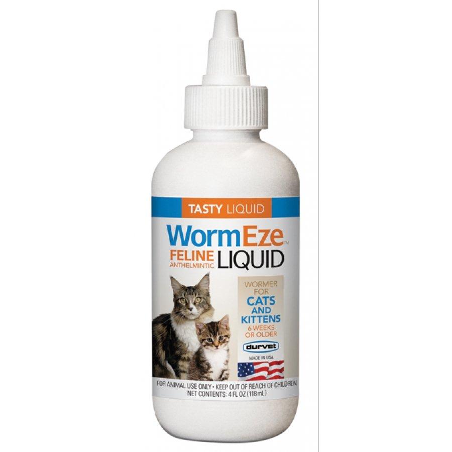 Wormeze Feline Anthelmintic Liquid - 4 oz. Best Price