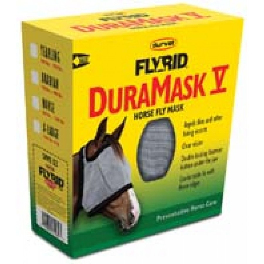FlyRid DuraMask V Horse Fly Mask / Size (Yearling) Best Price