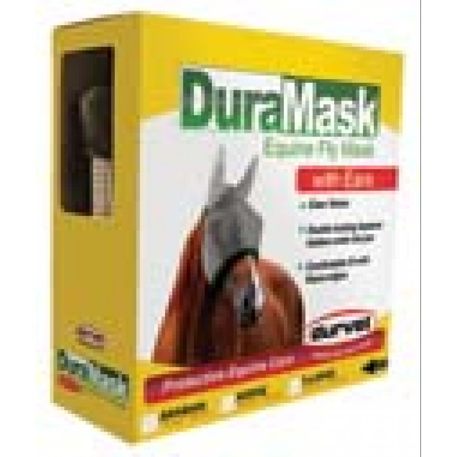 FlyRid DuraMask V Horse Fly Mask / Size (Horse with Ears) Best Price