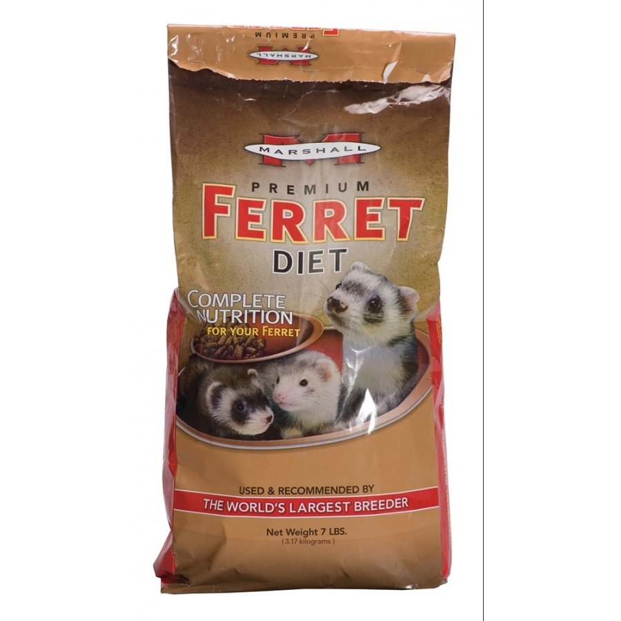 Marshall Premium Ferret Diet / Size 7 Lbs.