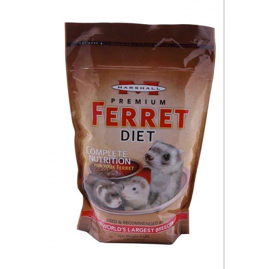 Marshall Premium Ferret Diet / Size 4 Lbs.