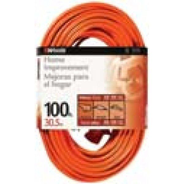 Outdoor Round Vinyl Extension Cord / Gauge (14 / 100 ft.) Best Price