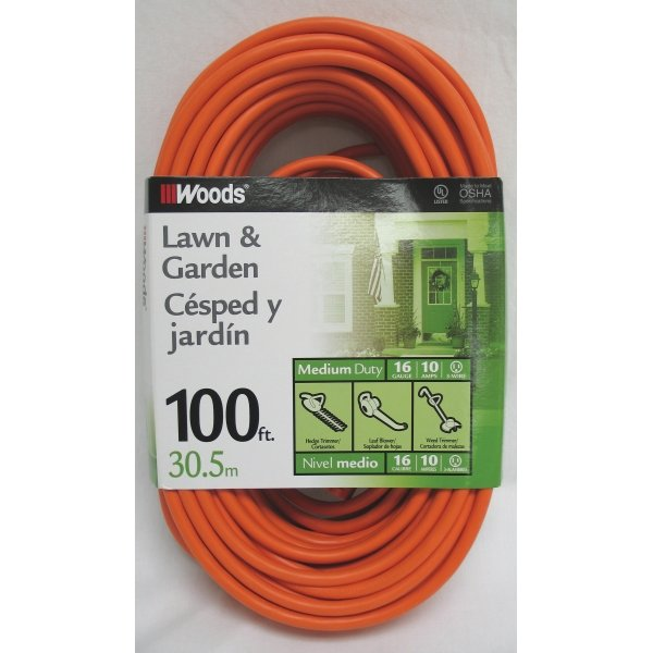Outdoor Vinyl Extension Cord / Size (100 ft) Best Price