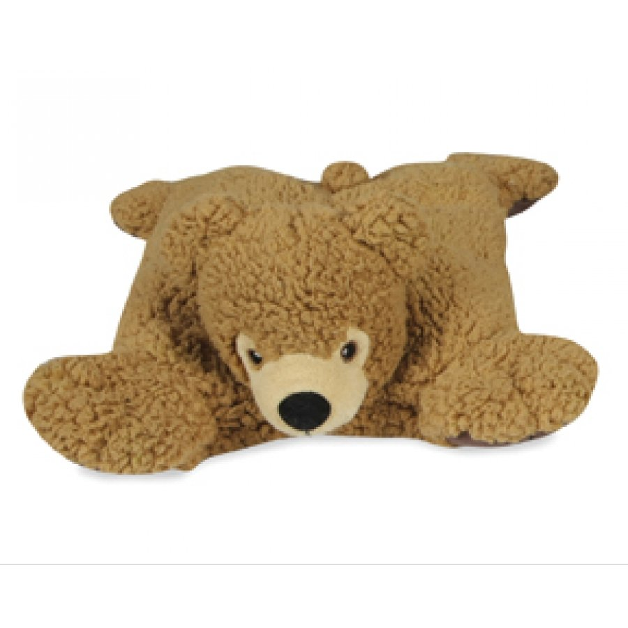 Bear Squares Dog Toy / Color Brown