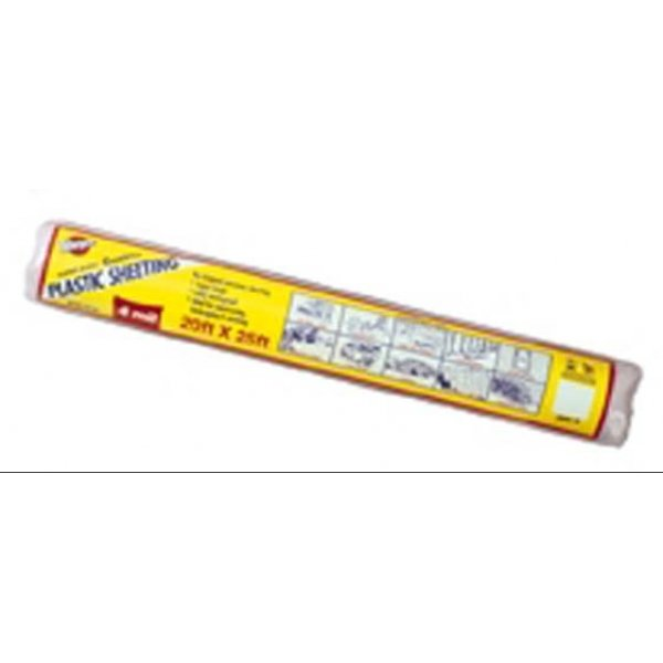 Poly Coverall Plastic Sheeting / Size (20 x 25 ft) Best Price