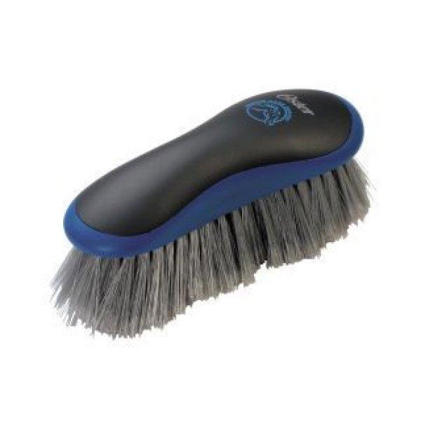 Equine Stiff Grooming Brush / Color (Blue) Best Price