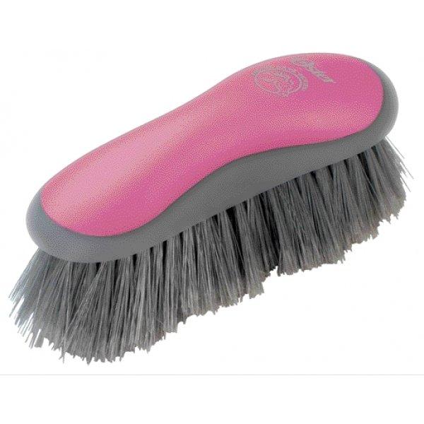 Equine Stiff Grooming Brush / Color (Pink) Best Price