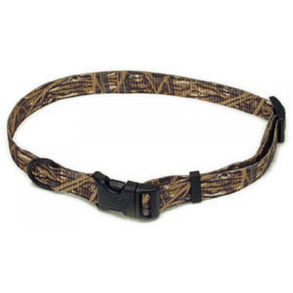 Adjustable Dog Collar - 1  x 14-20 in / Duck Blind Best Price