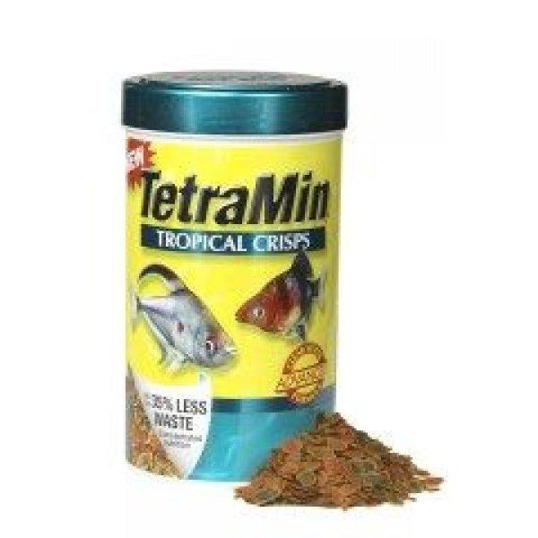 Tetramin Tropical Crisp Fish Food / Size 6.53 Oz.