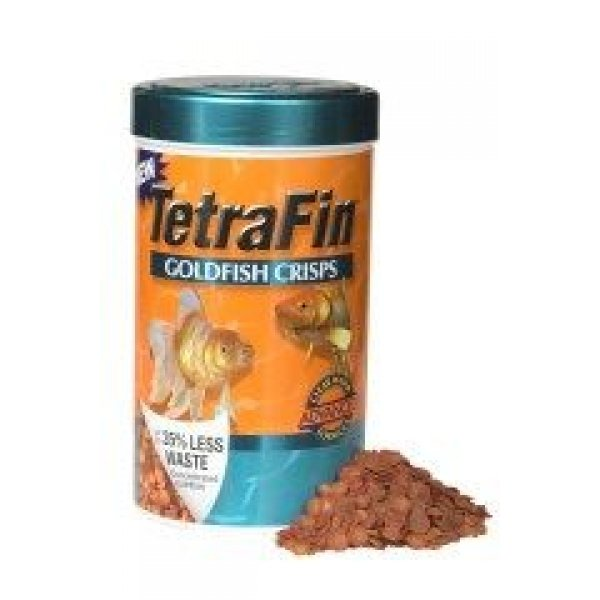 Tetrafin Goldfish Crisps Goldfish Food / Size 1.34 Oz.