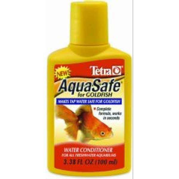 Aquasafe Water Conditioner For Goldfish / Size 3.38 Oz.
