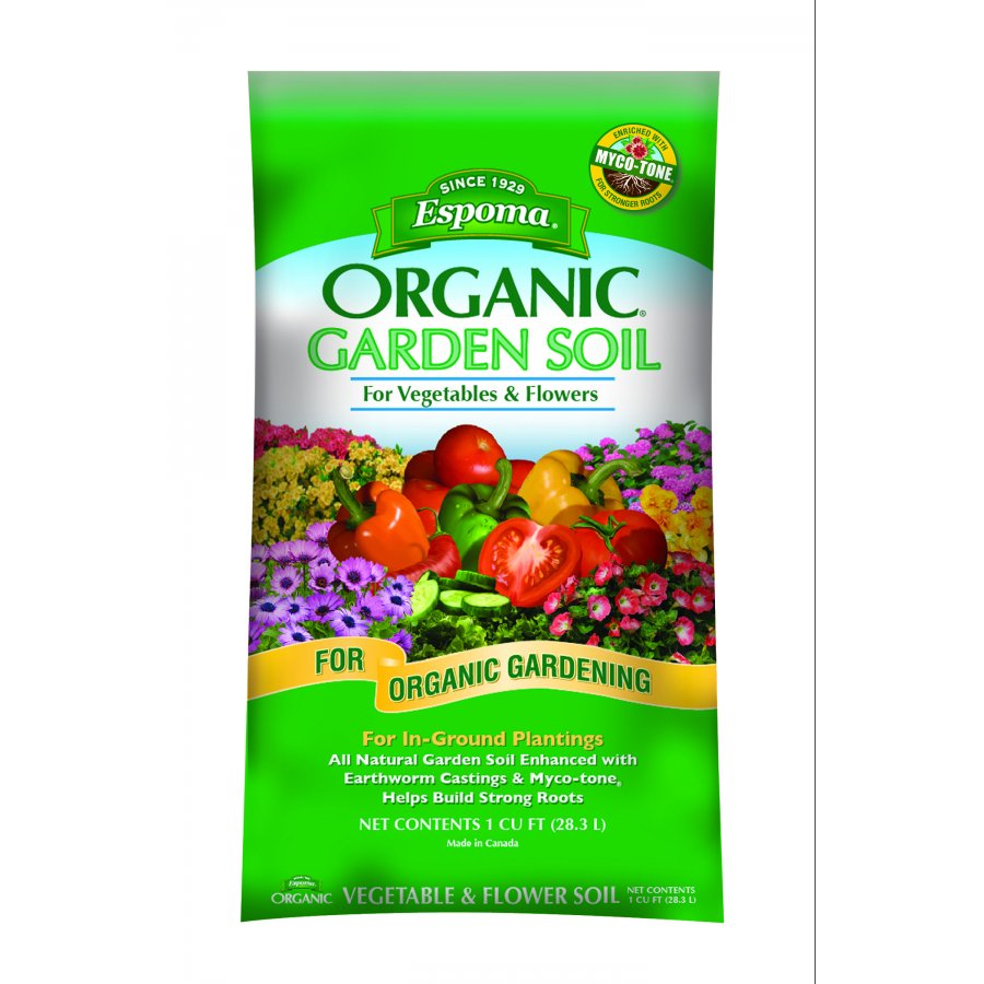Organic Garden Soil For Vegetables And Flowers 1 Cubic