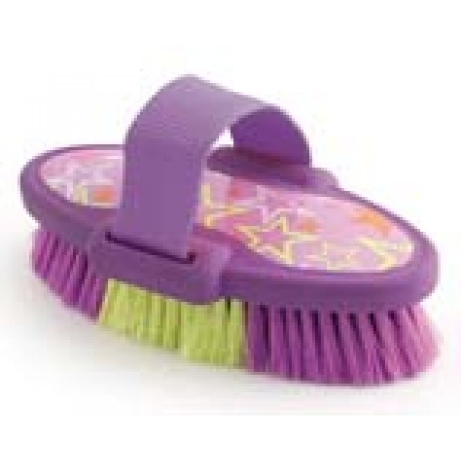 Luckystar Equine Body Brush / Color (Purple) Best Price