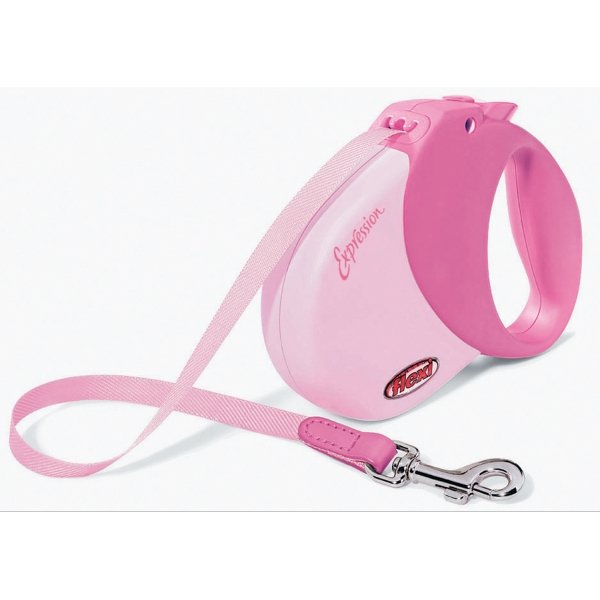 Expression Retractable Leash / Size (Small / Med - Pink) Best Price