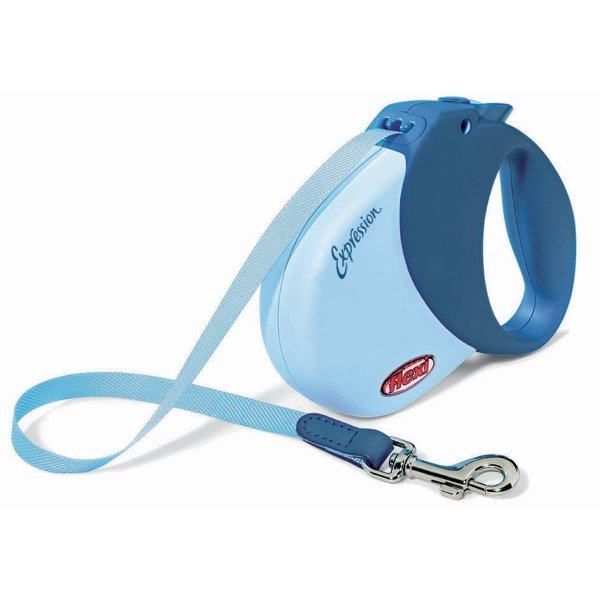 Expression Retractable Leash / Size (Small / Med - Blue) Best Price