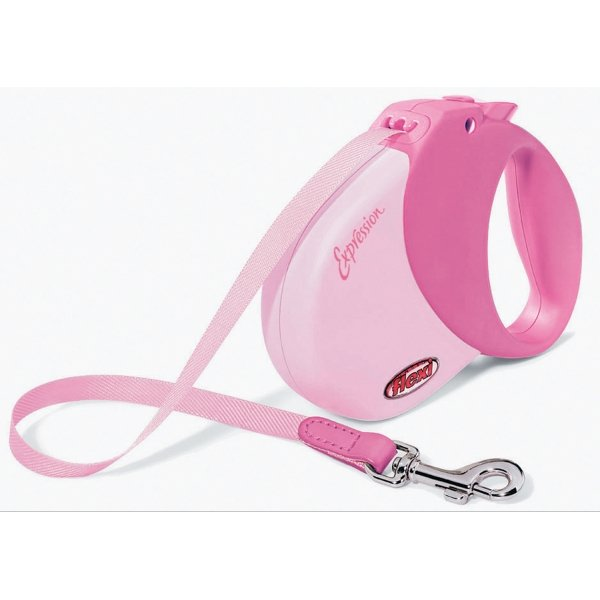 Expression Retractable Leash / Size (Med / Large - Pink) Best Price