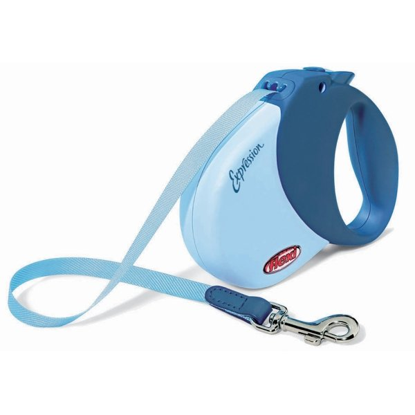 Expression Retractable Leash / Size (Med / Large - Blue) Best Price