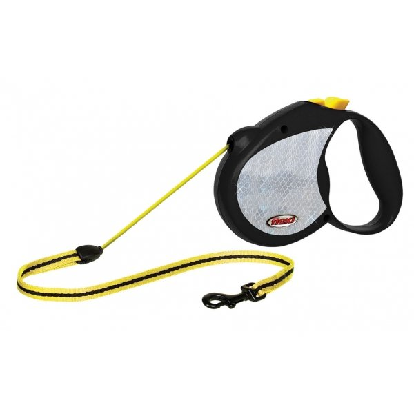 Reflective Neon Tape Dog Retractable Leash / Size (Medium / 16 ft.) Best Price