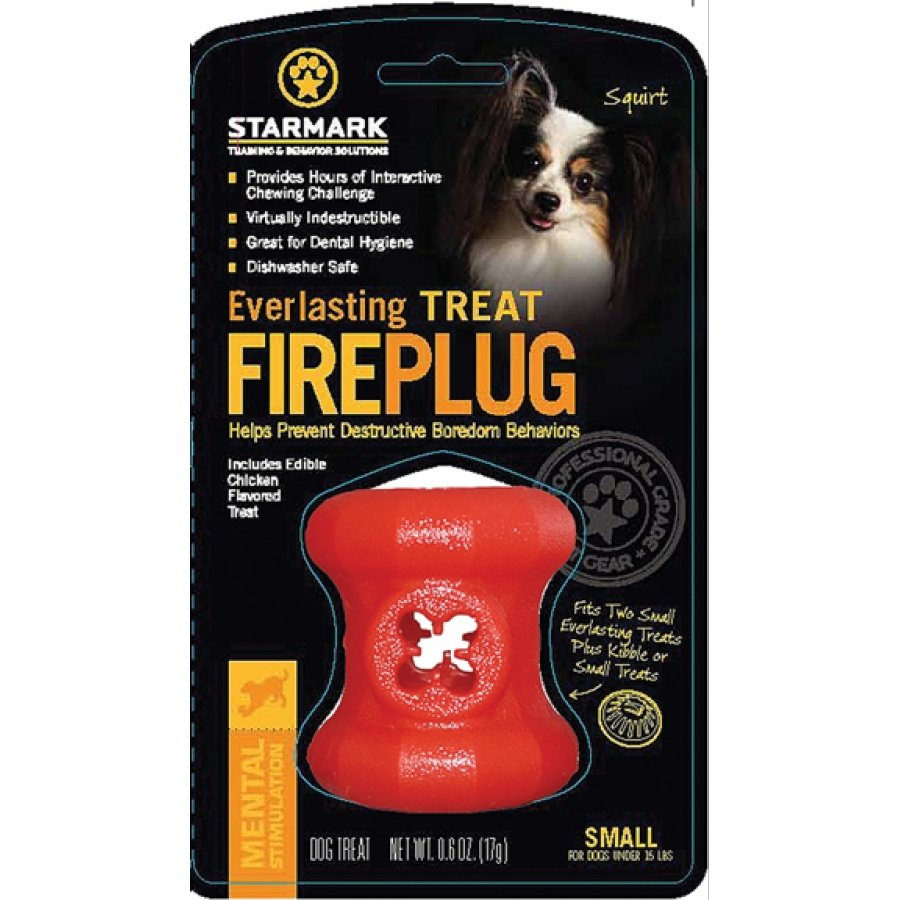 Everlasting Fire Plug Treat Dispenser For Dogs / Size Small