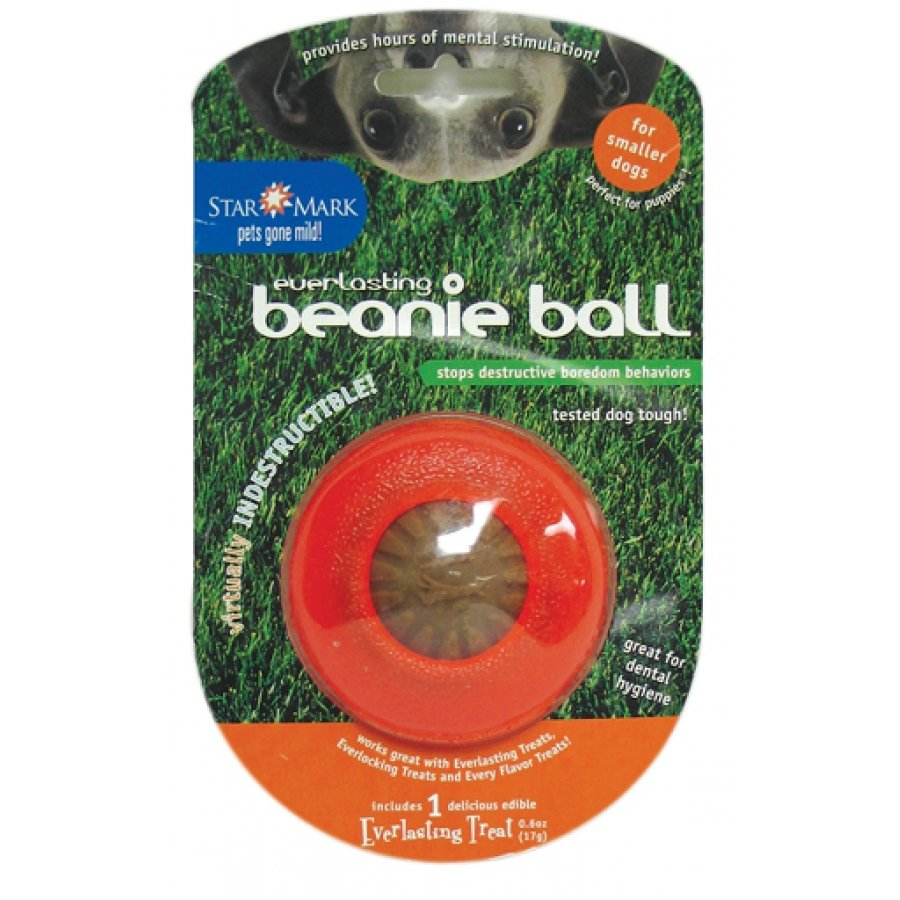 Everlasting Beanie Ball Treat Dispenser For Dogs / Size Small