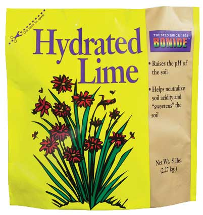 Hydrated Lime for Gardening / Size (5 lbs) Best Price