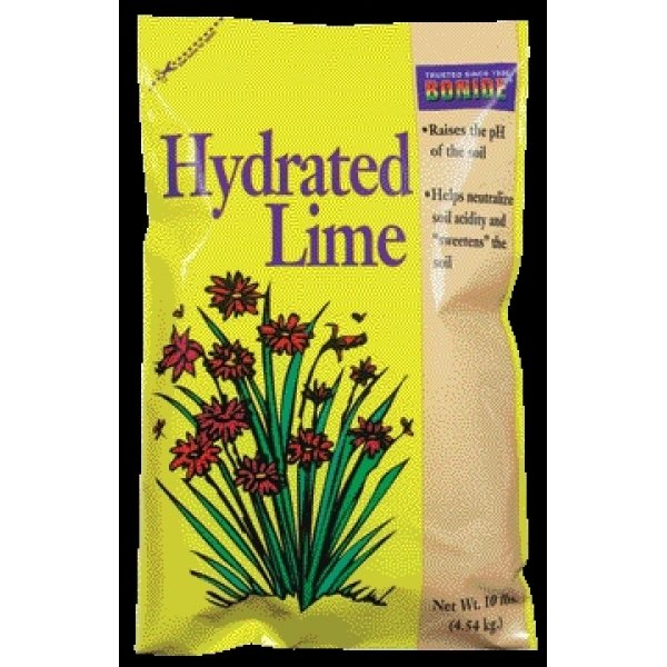 Hydrated Lime for Gardening / Size (10 lbs) Best Price